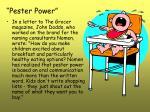 pester power