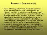 research summary 6
