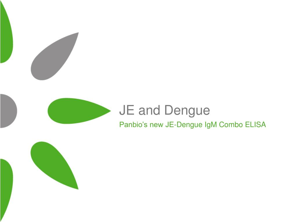 je and dengue l.