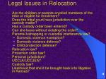 legal issues in relocation10