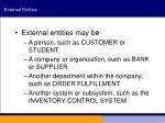 external entities6