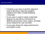 use case and dfd