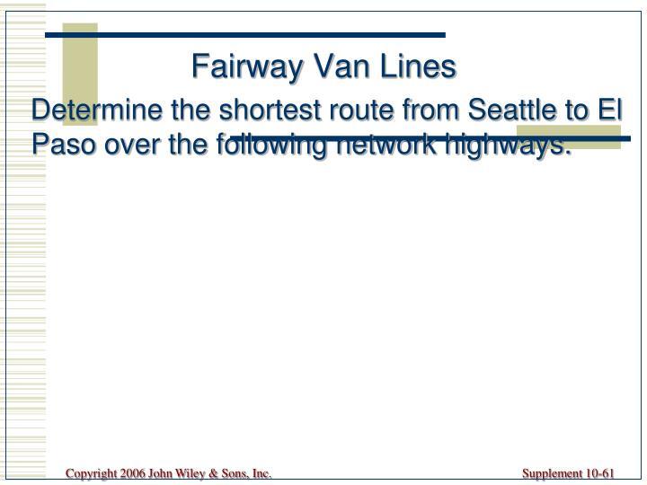 Fairway Van Lines