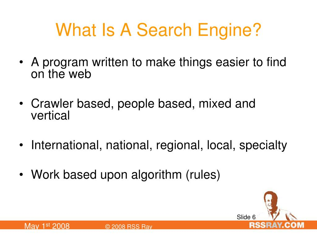 What Is A Search Engine?