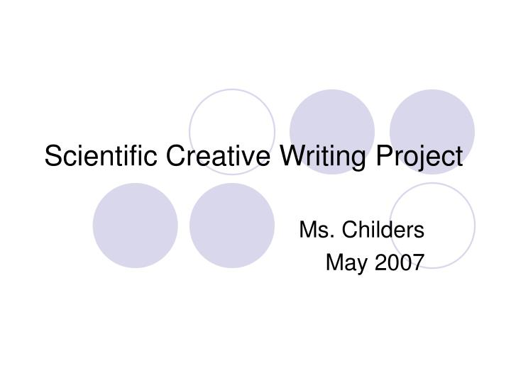 scientific creative writing project n.