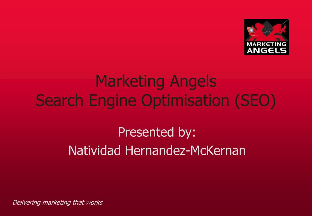 marketing angels search engine optimisation seo l.