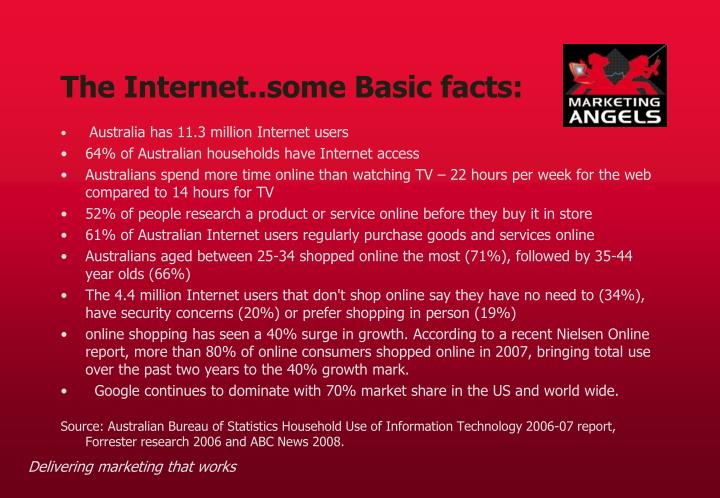 The internet some basic facts