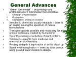 general advances