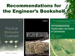 recommendations for the engineer s bookshelf