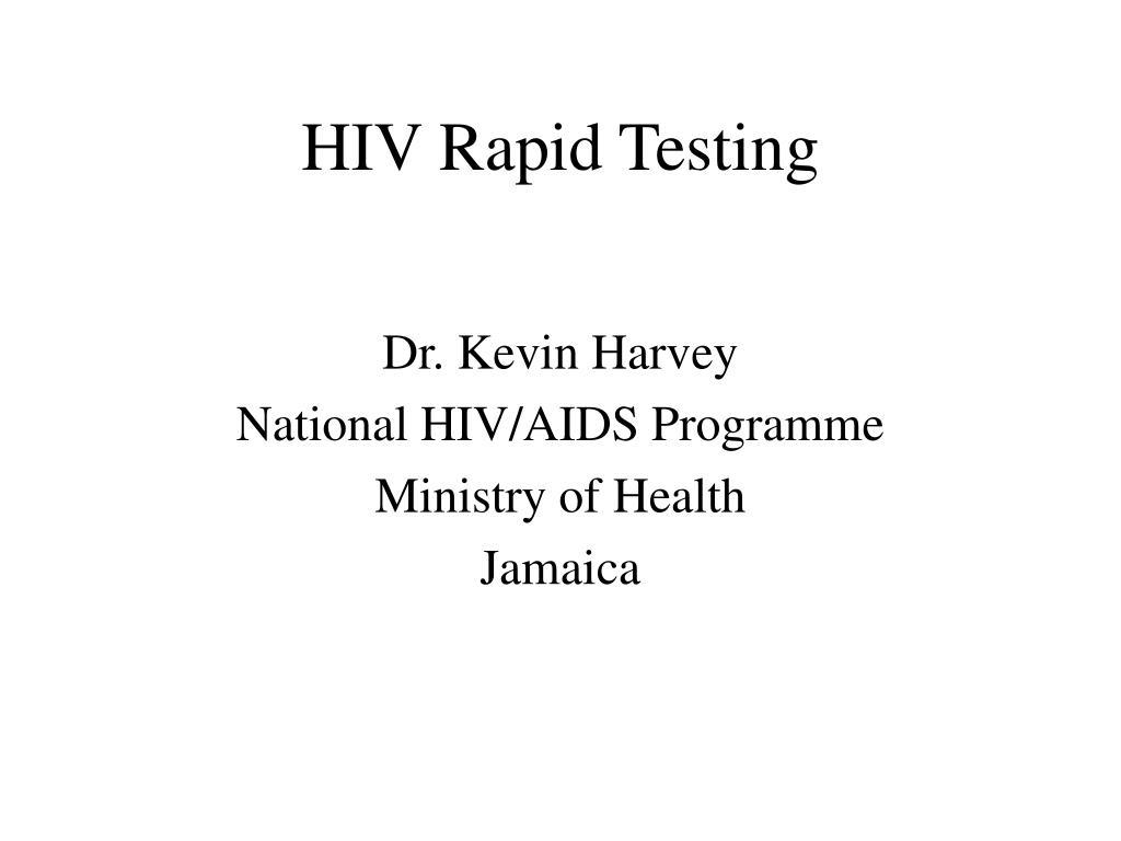hiv rapid testing l.