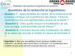 laboration des questions et hypoth ses de recherche8
