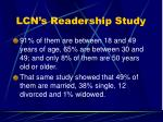lcn s readership study11