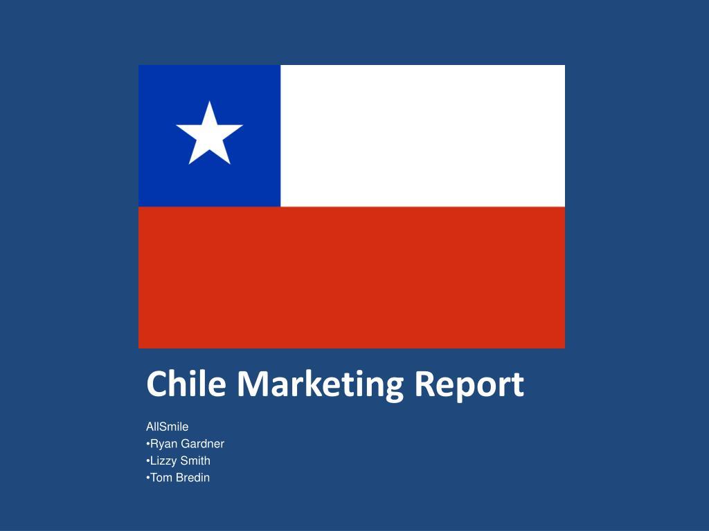 chile marketing report l.