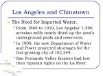 los angeles and chinatown