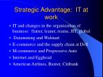 strategic advantage it at work