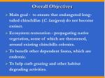 overall objectives