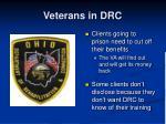 veterans in drc