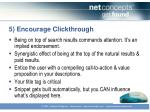 5 encourage clickthrough