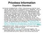 priceless information cognitive disorders37