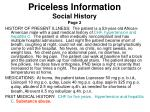 priceless information social history page 2