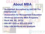 about mba5