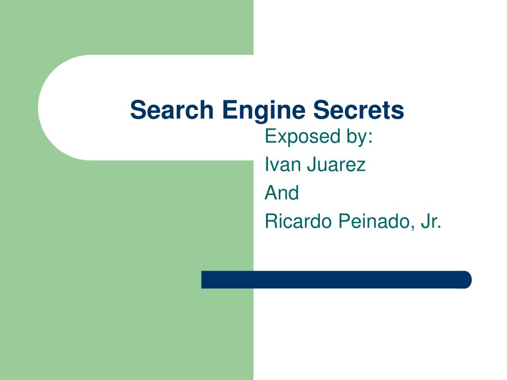 search engine secrets l.