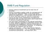 rmb fund regulation