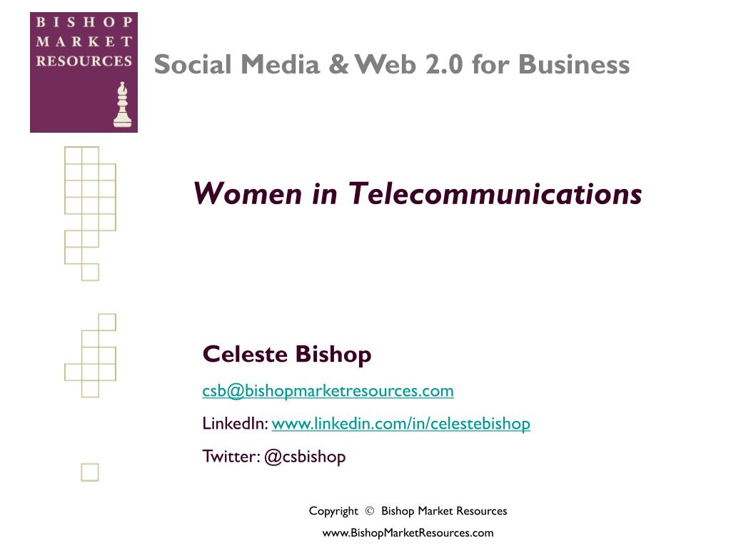 women in telecommunications l.