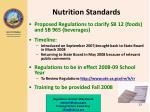 nutrition standards