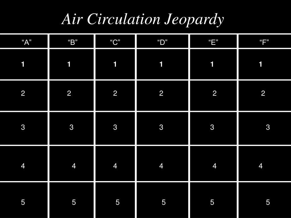 air circulation jeopardy l.