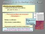 utilisations de la r action chimique suite1