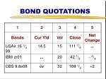 bond quotations37