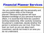 financial planner services71