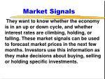 market signals