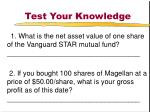 test your knowledge44