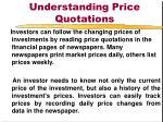 understanding price quotations