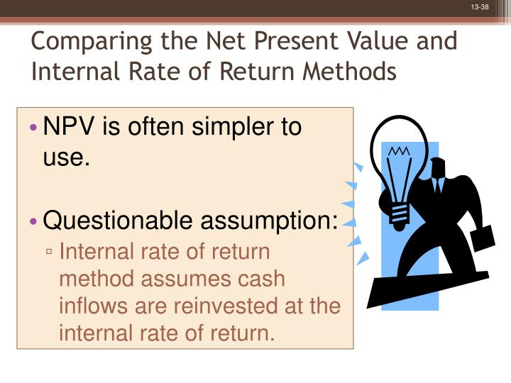 net present value vs internal rate of return essay Internal rate of return internal rate of return internal rate of return 2017 college essay writing servicequestion descript what is the net present value.