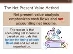 the net present value method9