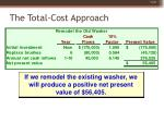 the total cost approach45