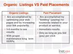 organic listings vs paid placements21