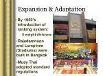 expansion adaptation35