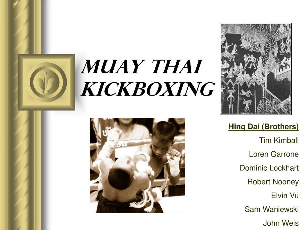 muay thai kickboxing l.