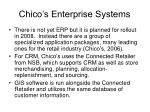 chico s enterprise systems