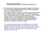 conclusions research question 2