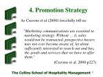 4 promotion strategy