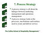 7 process strategy