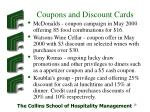 coupons and discount cards