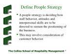 define people strategy