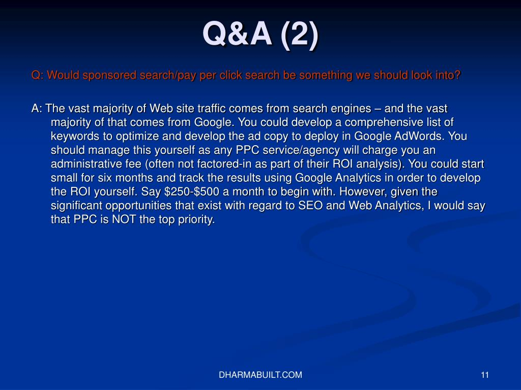 Q&A (2)