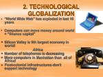 2 technological globalization